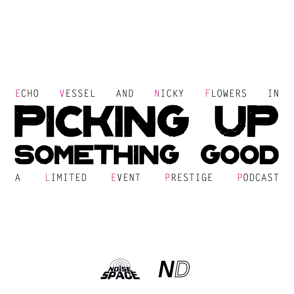 Echo Vessel and Nicky Flowers in Picking Up Something Good: A Limited Event Prestige Podcast from Noise Space and neo-detritus.