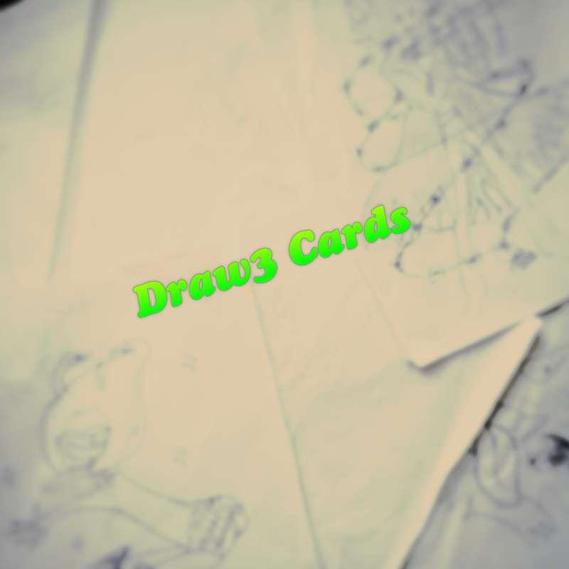 BONUS – Draw3 Cards